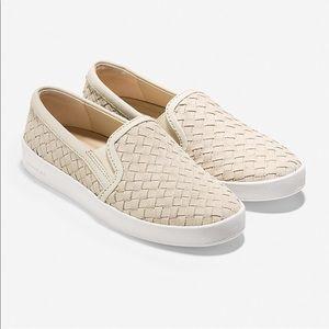 NWOB Cole Haan Spectator Slip On Sneaker